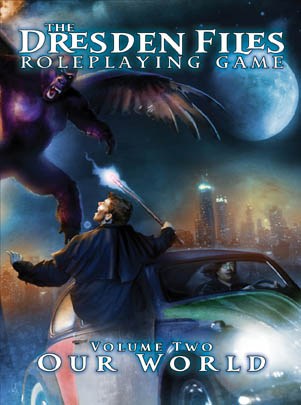 Cover des Dresden Files RPG