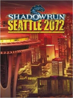 Cover Shadowrun Seattle 2072