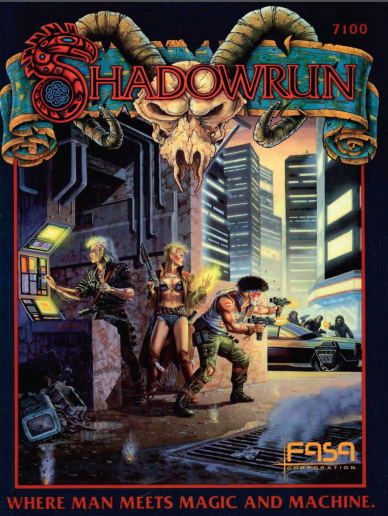 Shadowrun Cover 1st Edition