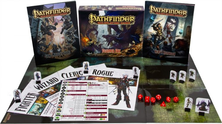 Die Pathfinder Einsteiger-Box. Was braucht man als Anfänger um mit dem Rollenspiel beginnen zu können?