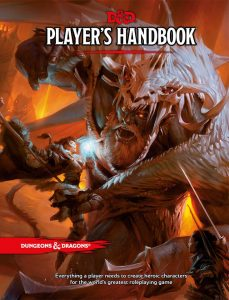 Cover vom Dungeons and Dragons Player Handbook 5e (© Wizards of the Coast)
